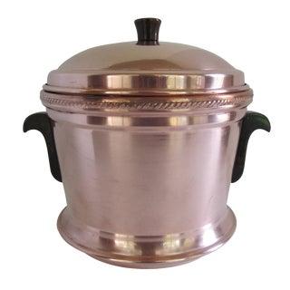 Mid-Century Copper Ice Bucket