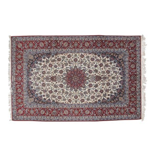 "Leon Banilivi Persian Isphahan Carpet - 6'9"" X 10'3"""