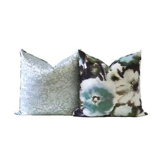 Velvet Designer Down Pillow