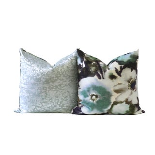 Velvet Designer Down Pillow