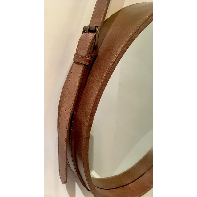 Lawson Fenning Leather Strap Mirror - Image 5 of 8