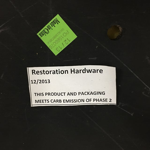 Restoration Hardware Vienna Cafe Barstools - Set of 3 - Image 10 of 10