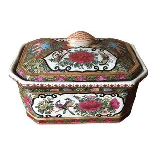 Decorative Porcelain Storage Box