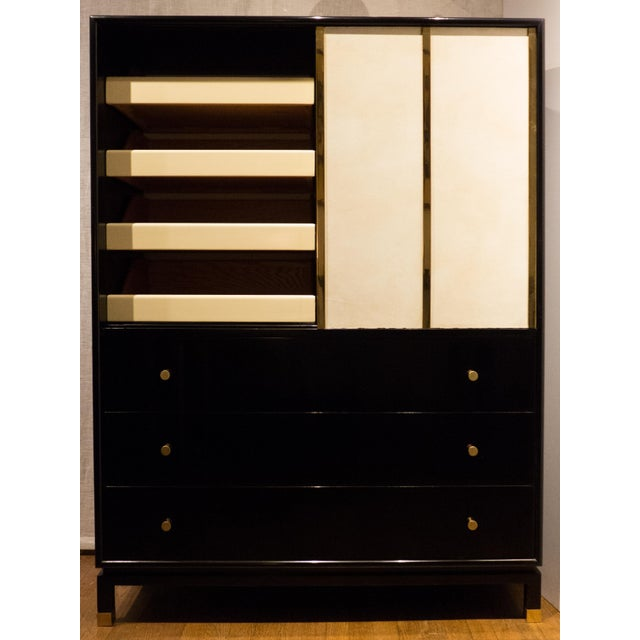 Harvey Probber Cabinet with Sliding Doors - Image 3 of 11