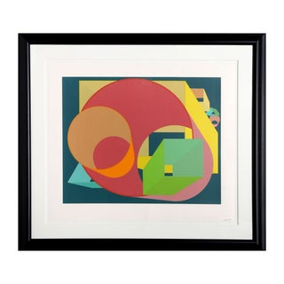 "Sybil Kleinrock ""Dreamfields (Purple)"" Lithograph"