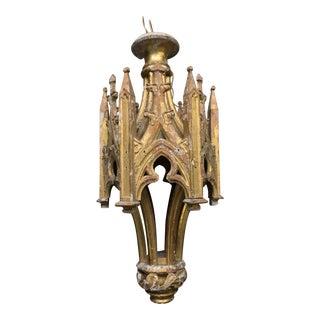 1880 French Wooden Lantern