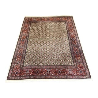 Handmade Persian Mood Rug - 8″ × 10″