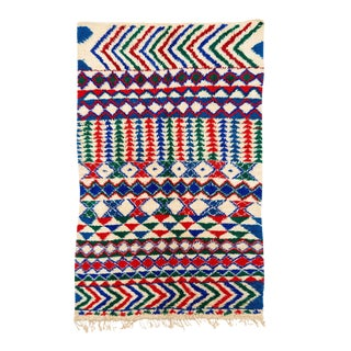 Vintage Azilal Handwoven Rug - 6′7″ × 10′2″
