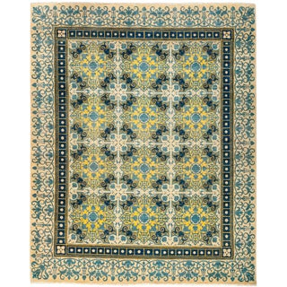 "Suzani, Hand Knotted Area Rug - 8'2"" X 10'"