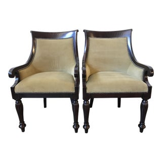 Ralph Lauren Home East Grand Dining Armchairs (Pair)