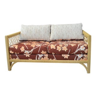 Vintage Lane Rattan Loveseat