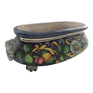 Italian Renaissance Ceramic Jardiniere