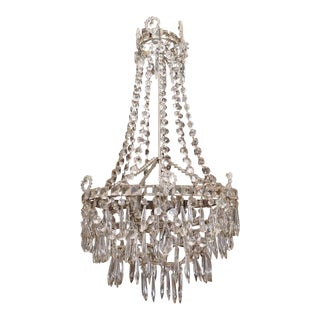 Early 19th Century French Crystal Chandelier