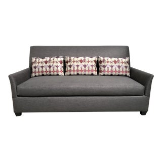 RJones Charleston Sofa With Three Contrasting Kidney Pillows