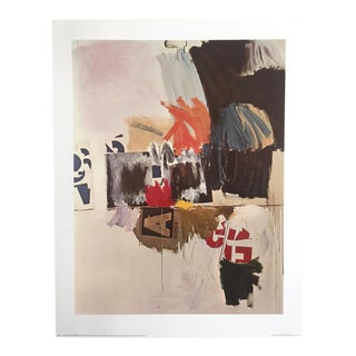 """Robert Rauschenberg """"Summer Rental No. 2"""" 1960 Original Offset Lithograph Print"""