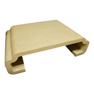 Cream Modern Coffee Table
