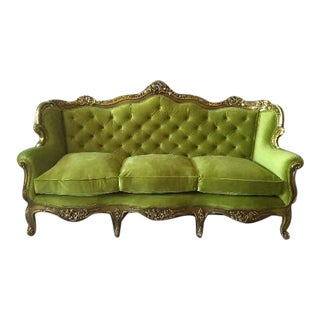 Baroque Style Three-Seater Sofa/Settee