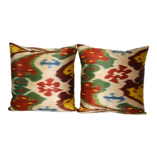 Fabric Ikat Pillow 13