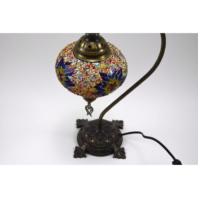Turkish Handmade Mosaic Lamp - Image 7 of 7