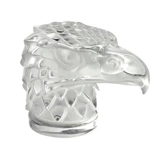 Mid-Century Lalique Eagle Paper Weight
