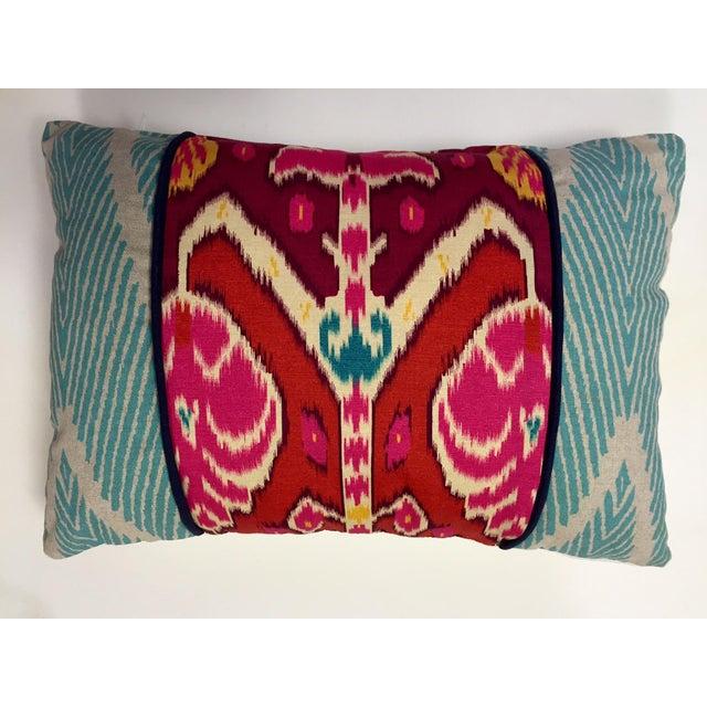 Vibrant Global Print Pillow - Image 2 of 3