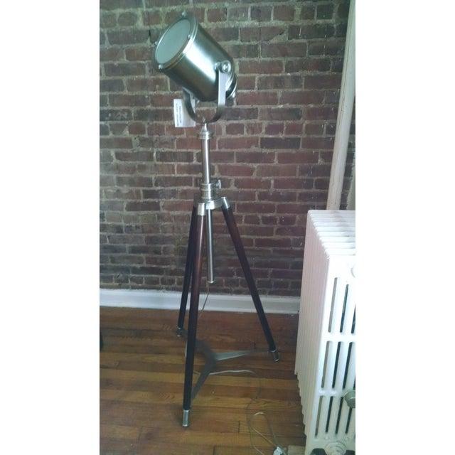 Pottery Barn Tripod Photographer Lamp Chairish