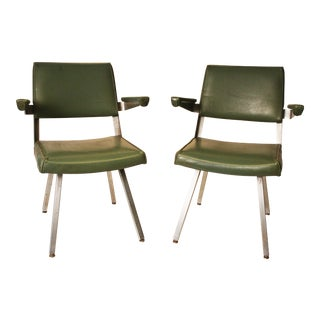 Harter Mid-Century Modern Industrial Office Chairs- A Pair