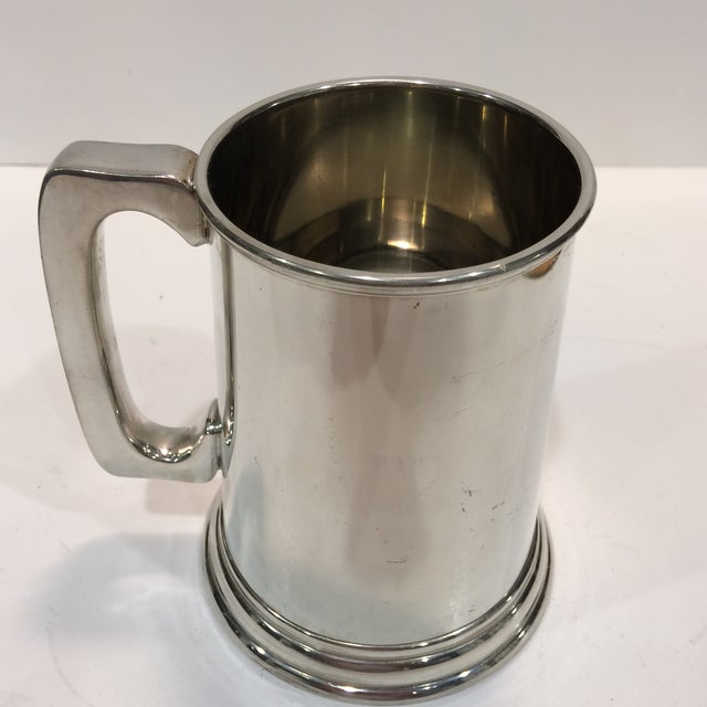 "Vintage Pewter ""53RD"" W.R.S. Hurricane Hunter Beer Stein - Image 5 of 11"