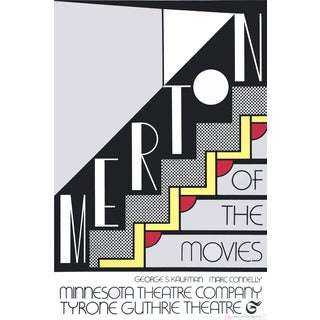 Roy Lichtenstein, Merton of the Movies, 1968 Foil Print