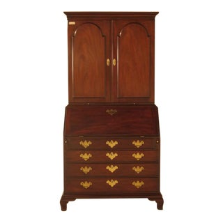 Kittinger Historic Newport Mahogany Secretary Desk