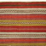 Image of Groovy Vintage Turkish Sofreh Kilim - 3'6 X 4'