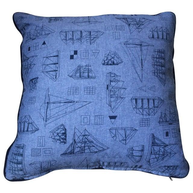 Set of Three Nautical Pillows - Image 1 of 8