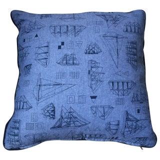 Set of Three Nautical Pillows
