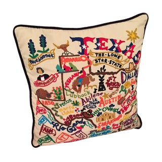 Lulu and Georgia Texas State Pillow