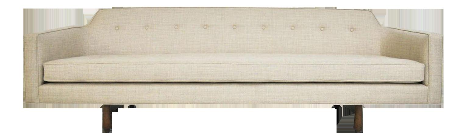 Dunbar Curved Back Sofa By Edward Wormley   Image 1 Of 8