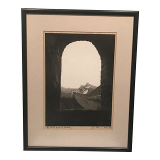 """""""Great Wall"""" Mounted Photograph"""