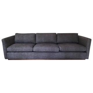 Milo Baughman for Thayer Coggin Floating Tuxedo Sofa
