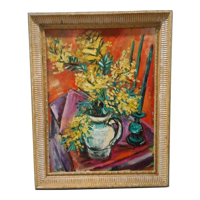 Framed Still Life Painting - Image 1 of 3