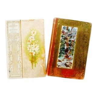 Petite Art Nouveau Books - A Pair
