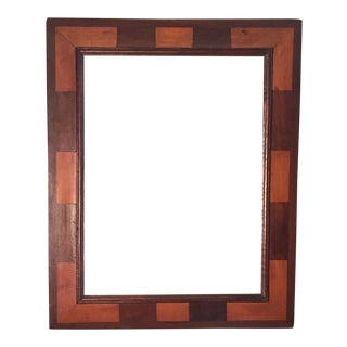 18th Century Spanish Fruit Wood Frame