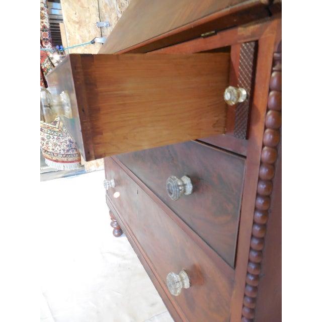 Signed Pennsylvania 1836 Cherry Slant Front Desk - Image 11 of 11