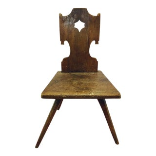 Antique Hand Made Wooden Chair