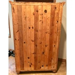 Image of Customized Mexican Pine Cantina Dry Bar Cabinet
