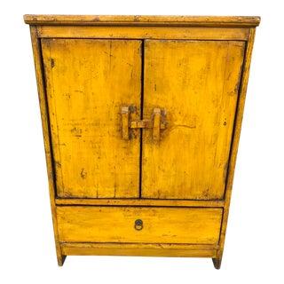 Antique Primitive Pine Cupboard
