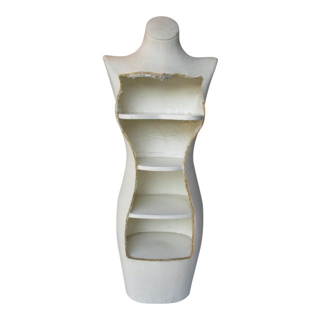 Boho Glam Body Form Mannequin Retail Store Display Shelf - Image 1 of 11
