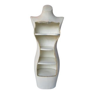 Boho Glam Body Form Mannequin Retail Store Display Shelf