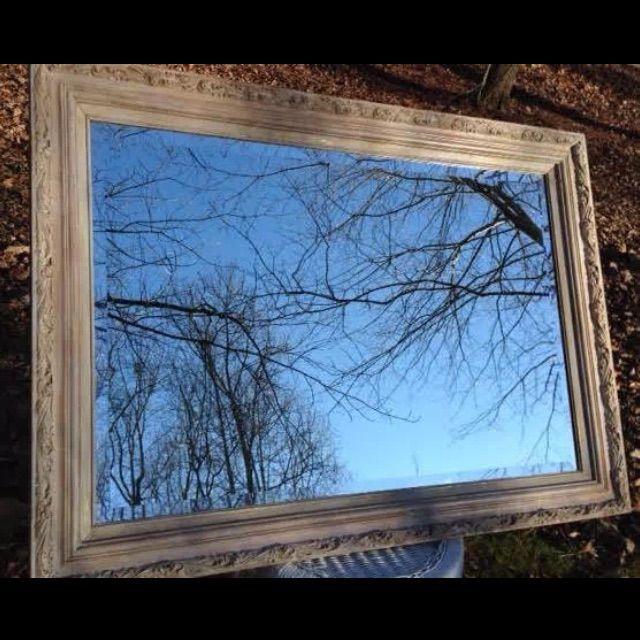 Ornate Wood Framed Beveled Mirror - Image 2 of 7