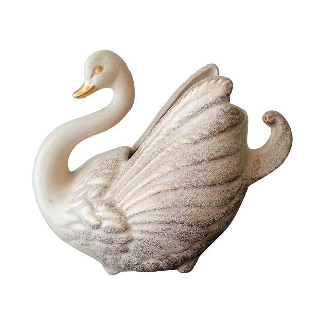 Gold Swan TV Lamp - Image 1 of 5