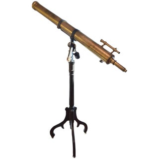 19th Century Brass Telescope