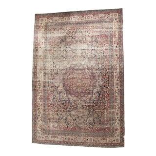 "Antique Kermanshah Carpet - 10'4"" X 15'3"""